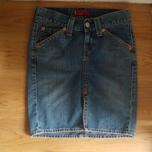 Levi's Type 1 Jeans Western Skirt